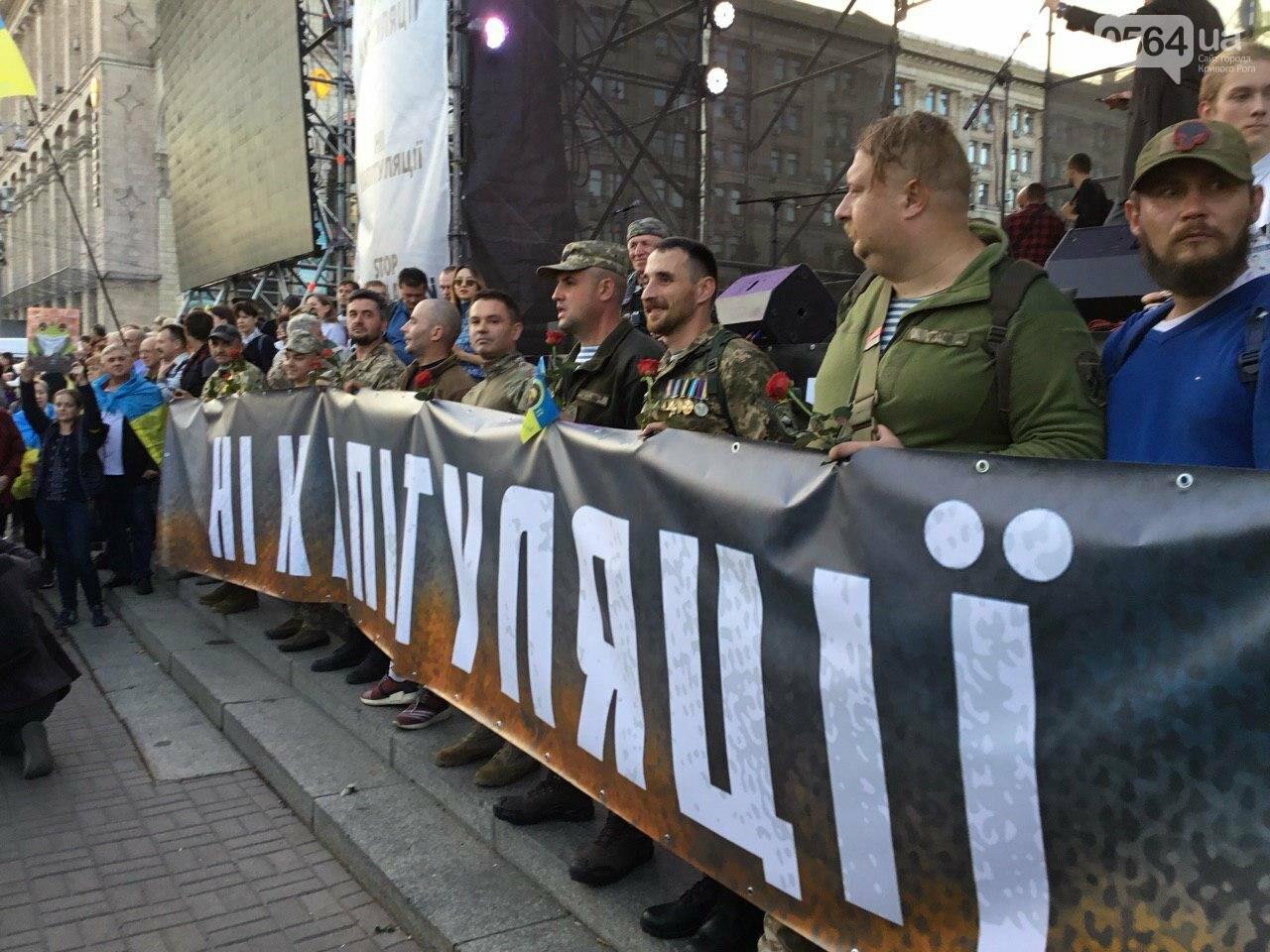 Криворожане поддержали Марш сопротивления капитуляции в Киеве, - ФОТО, ВИДЕО, ОБНОВЛЕНО, фото-38
