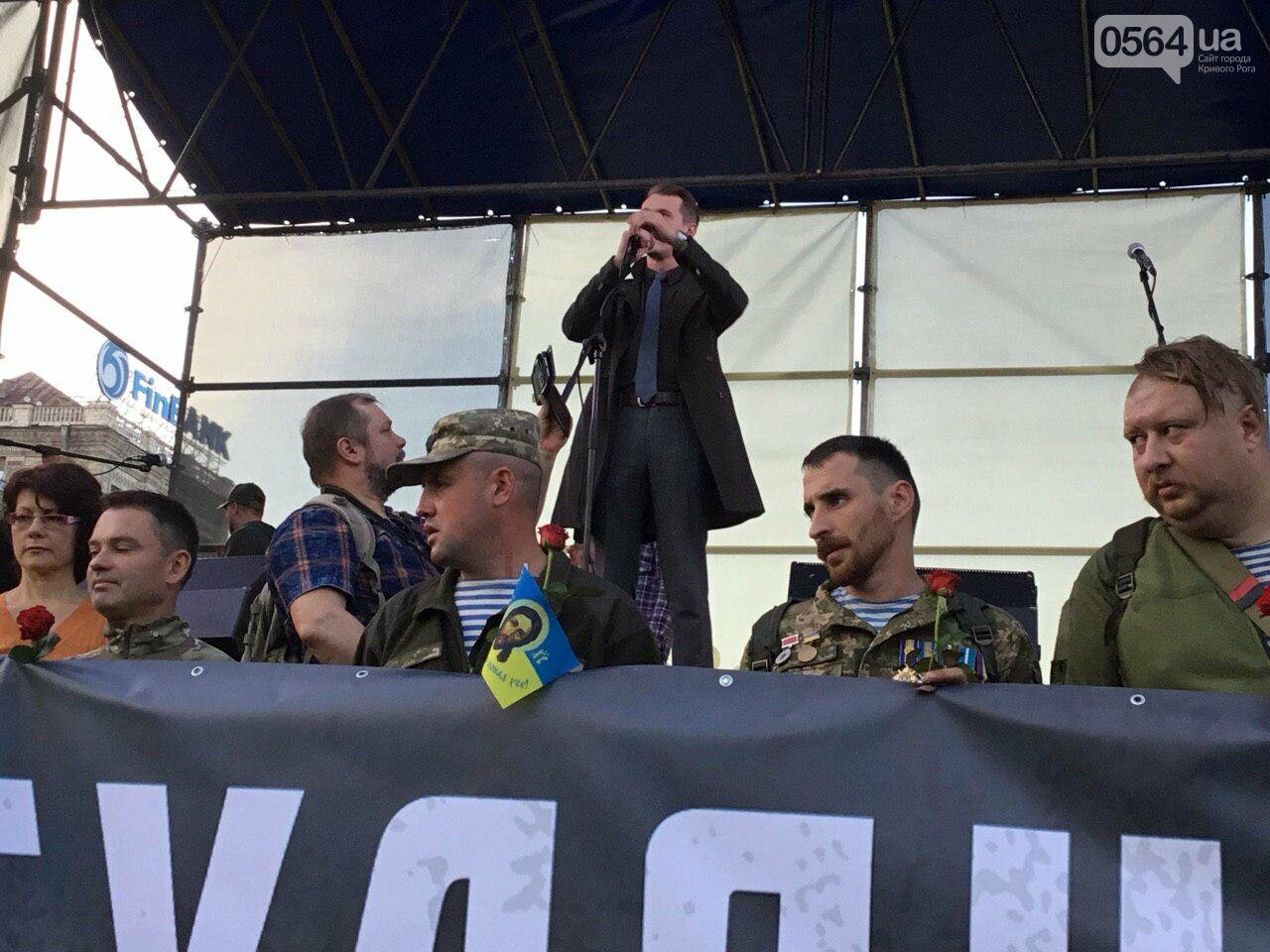 Криворожане поддержали Марш сопротивления капитуляции в Киеве, - ФОТО, ВИДЕО, ОБНОВЛЕНО, фото-40