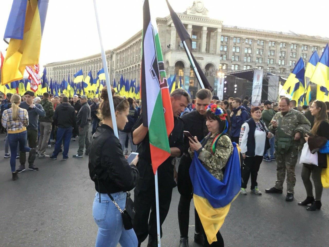 Криворожане поддержали Марш сопротивления капитуляции в Киеве, - ФОТО, ВИДЕО, ОБНОВЛЕНО, фото-36