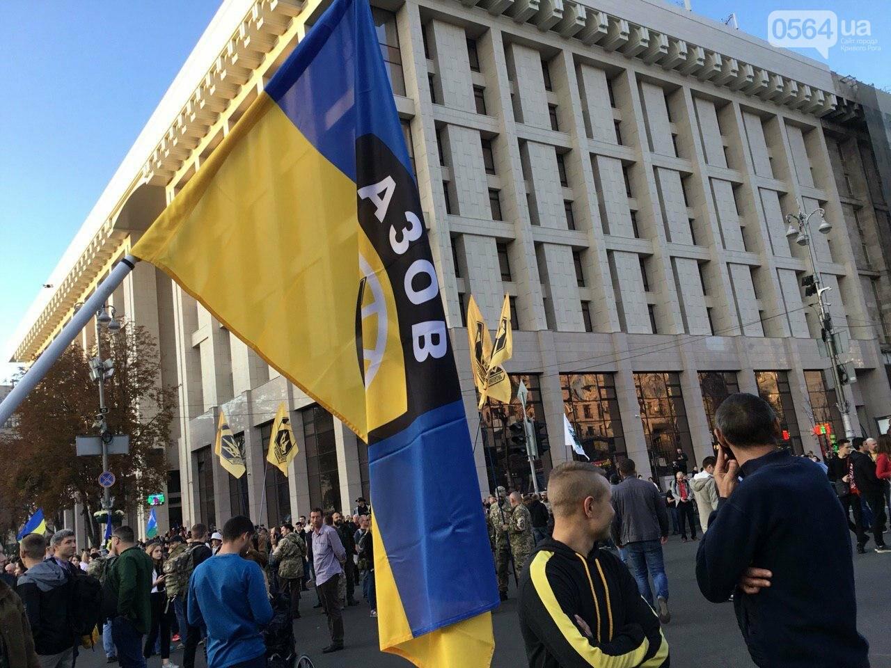 Криворожане поддержали Марш сопротивления капитуляции в Киеве, - ФОТО, ВИДЕО, ОБНОВЛЕНО, фото-35