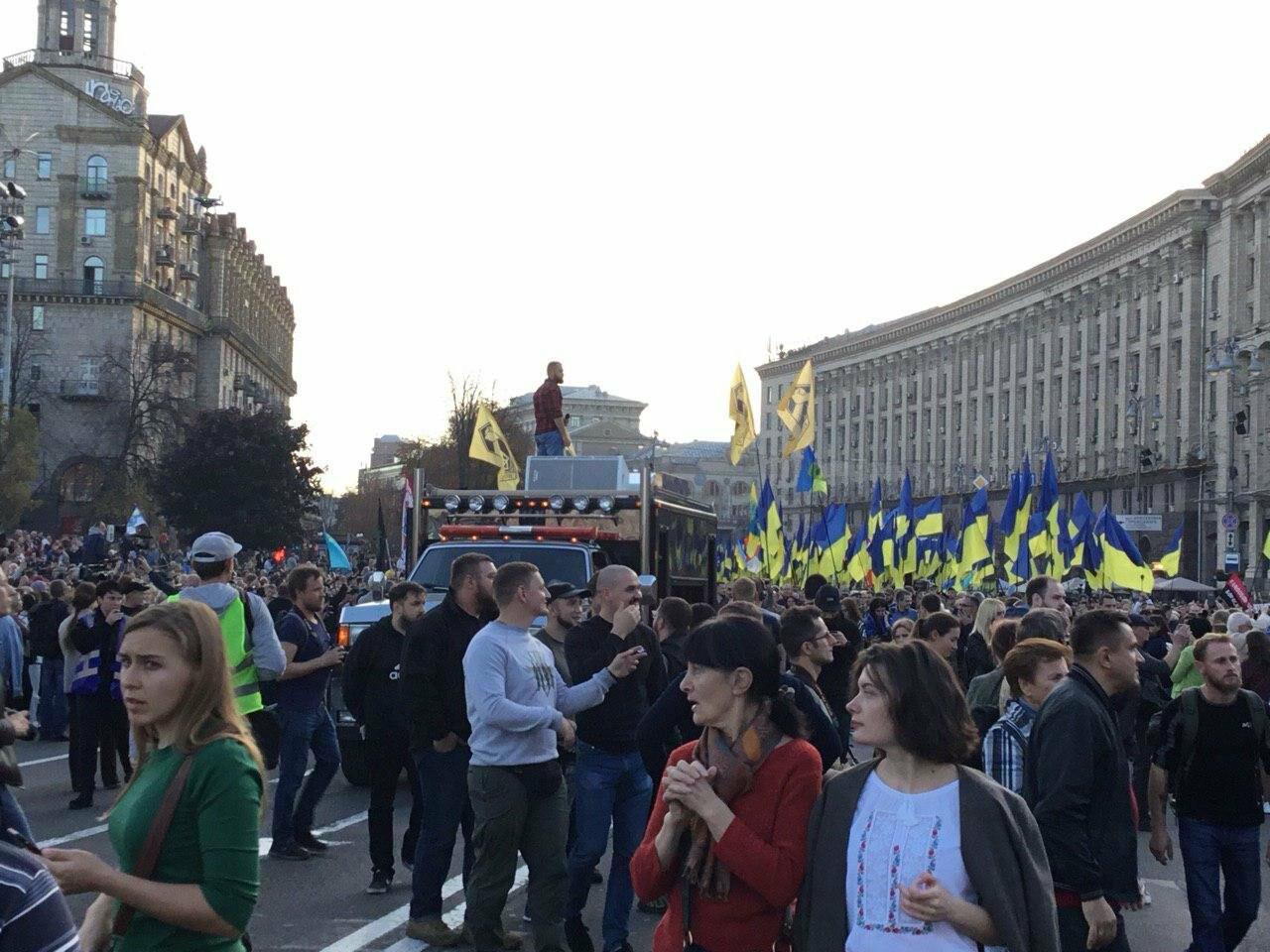 Криворожане поддержали Марш сопротивления капитуляции в Киеве, - ФОТО, ВИДЕО, ОБНОВЛЕНО, фото-31