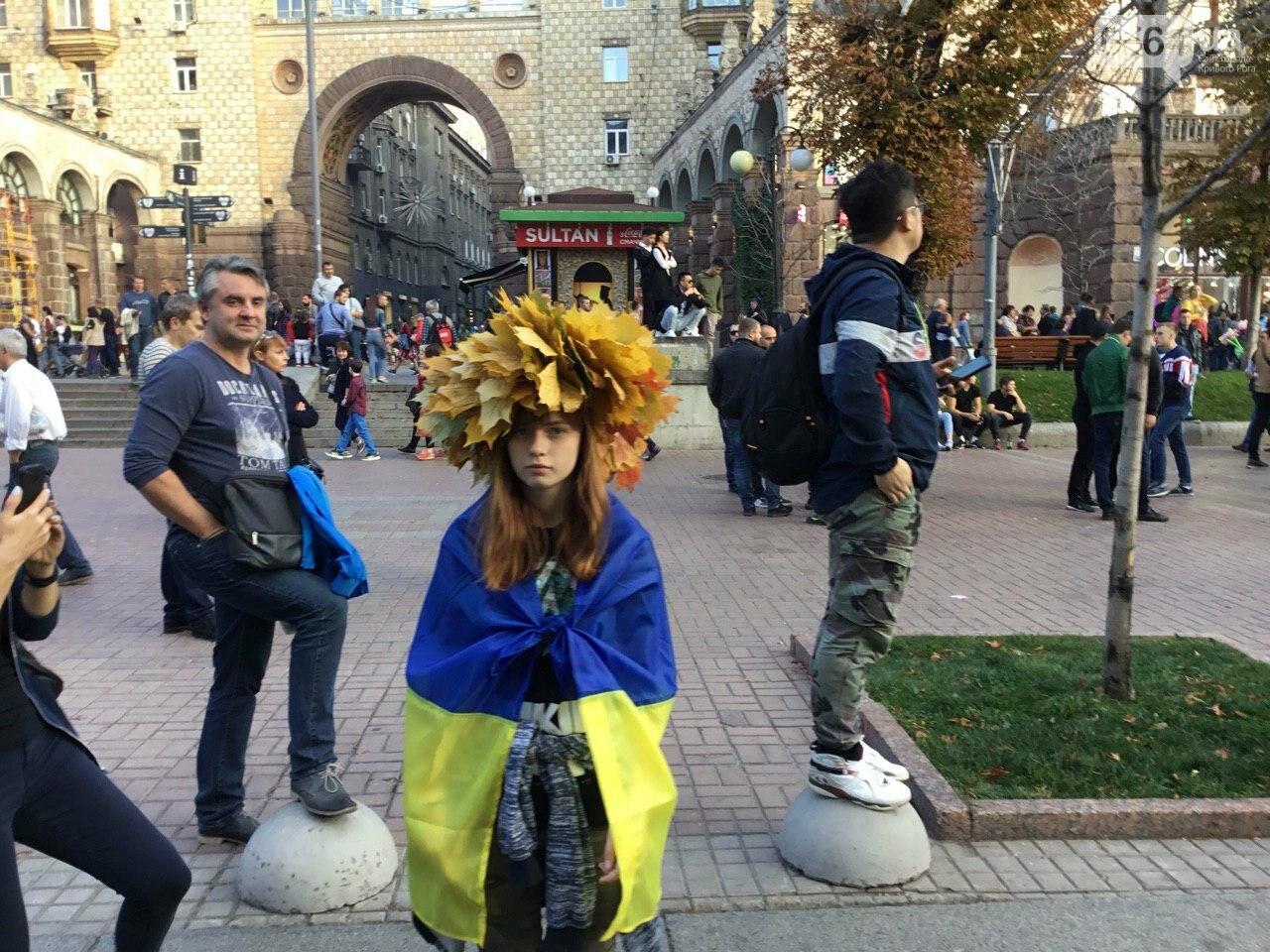 Криворожане поддержали Марш сопротивления капитуляции в Киеве, - ФОТО, ВИДЕО, ОБНОВЛЕНО, фото-23