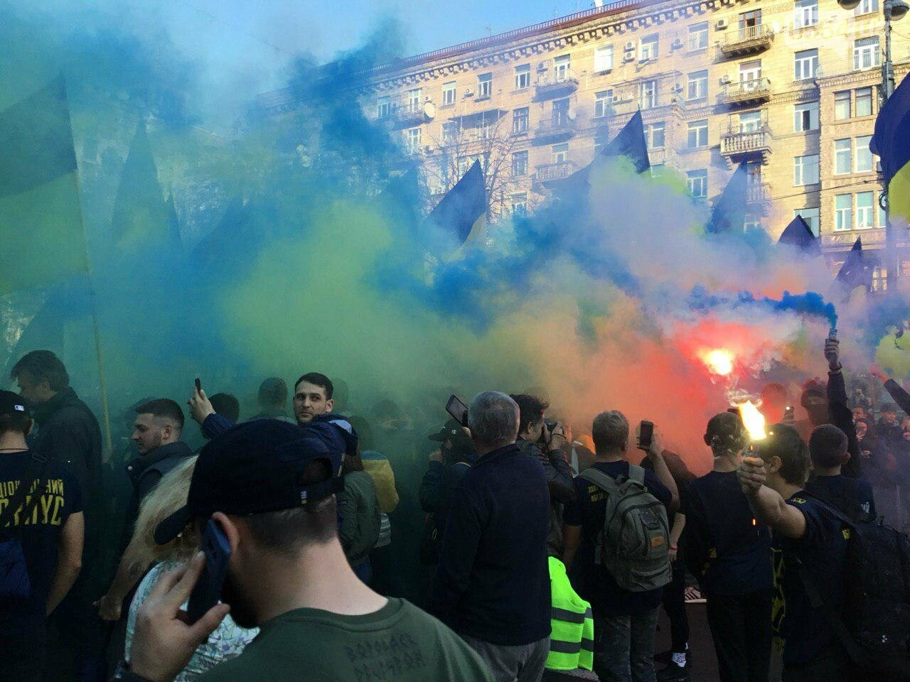Криворожане поддержали Марш сопротивления капитуляции в Киеве, - ФОТО, ВИДЕО, ОБНОВЛЕНО, фото-17