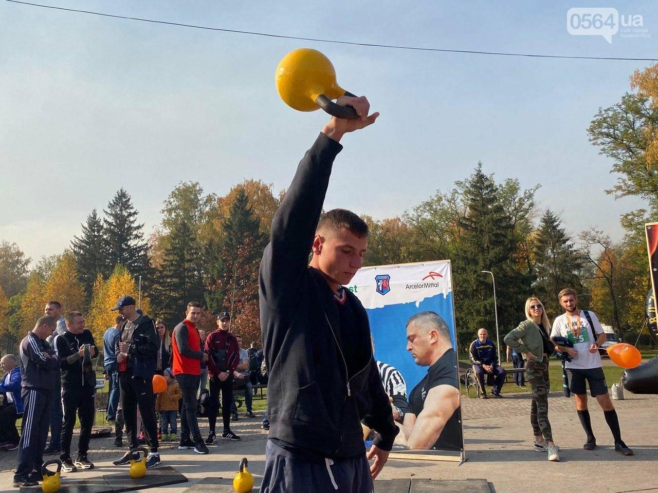 Сильные криворожские мужчины соревновались в поднятии гири, - ФОТО, ВИДЕО , фото-12