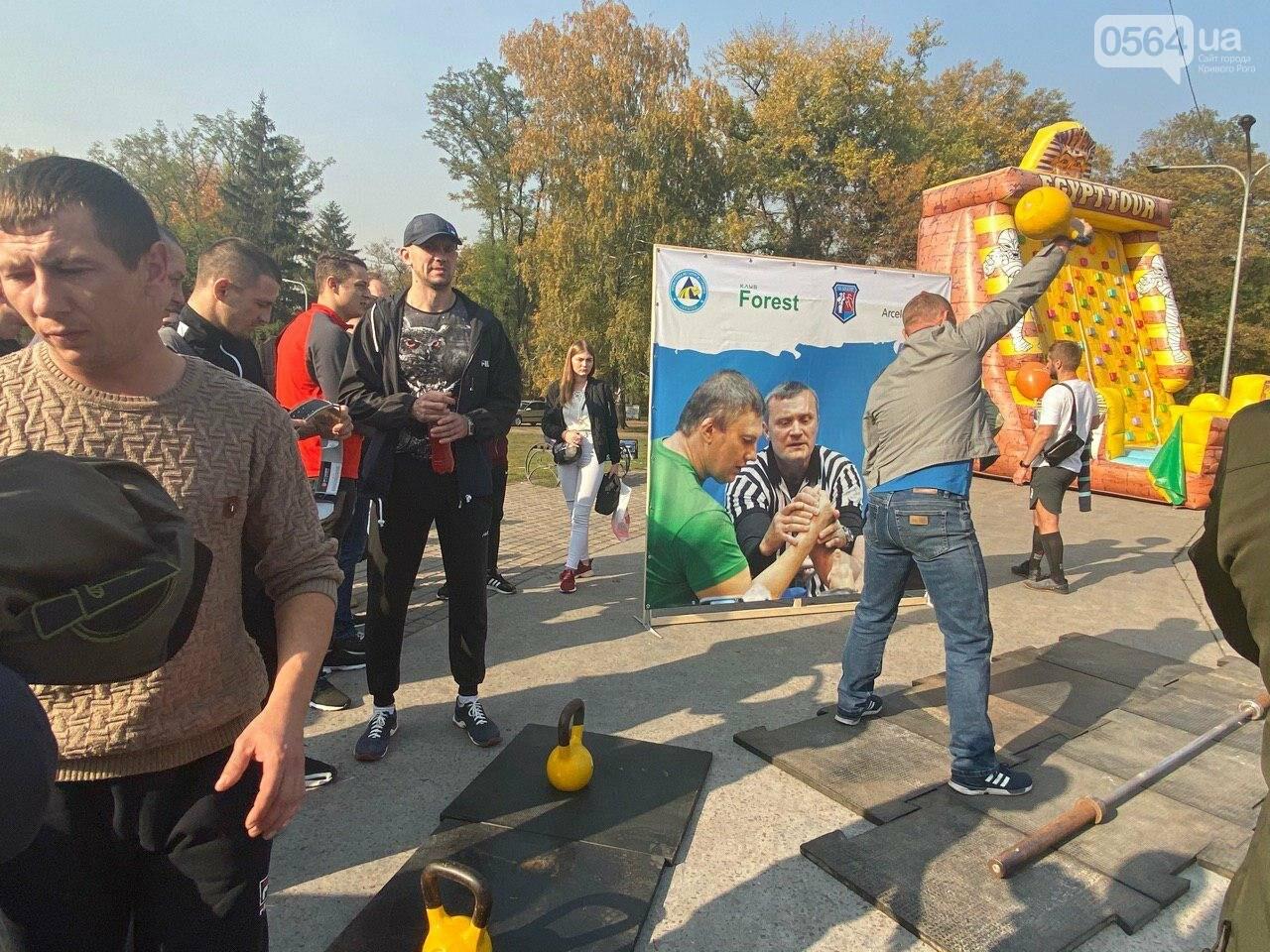 Сильные криворожские мужчины соревновались в поднятии гири, - ФОТО, ВИДЕО , фото-19