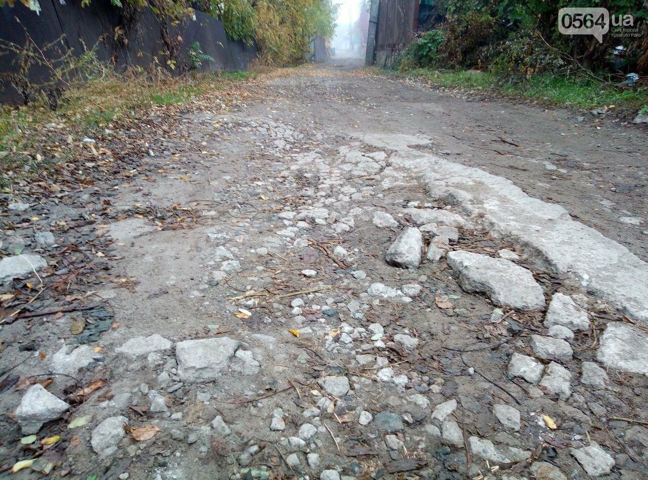 Более 15 лет криворожане с улицы Блока просят отремонтировать дорогу, - ФОТО, ВИДЕО, фото-5