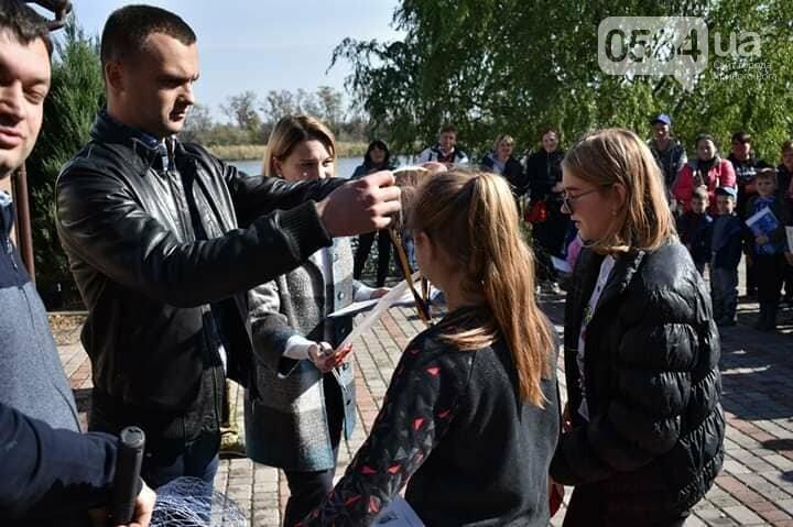 Под Кривым Рогом для юных рыболовов устроили чемпионат, - ФОТО, фото-6