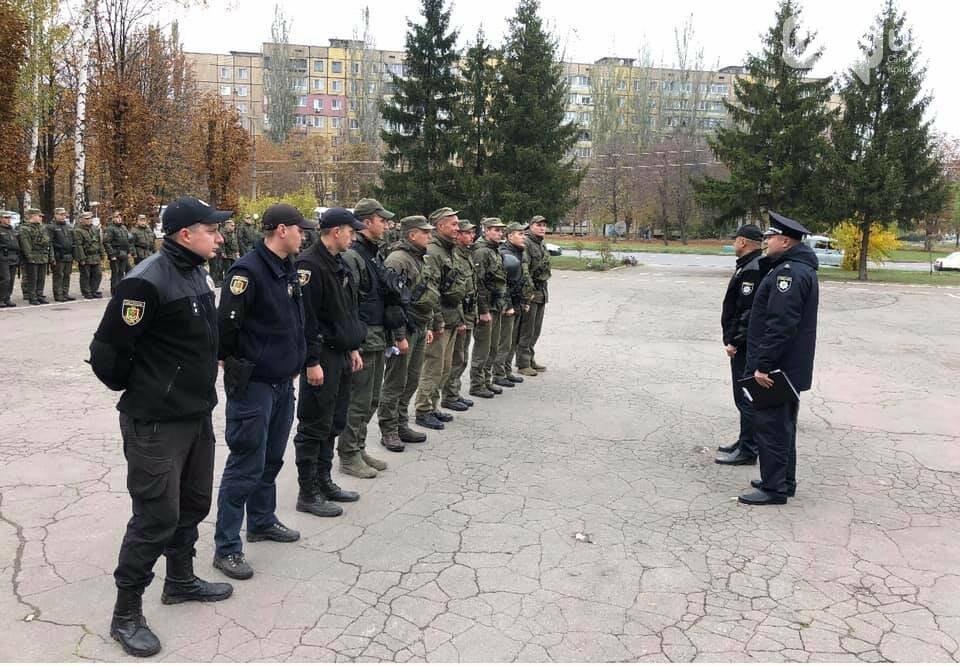 В Кривом Роге Покровский район начали охранять полицейские и военные, - ФОТО , фото-4