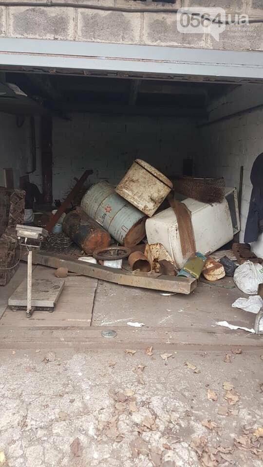 Незаконный пункт приема металла обнаружили криворожские полицейские, - ФОТО , фото-2