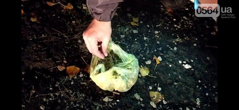"В Кривом Роге мужчину задержали с пакетиком ""травки"", - ФОТО , фото-1"