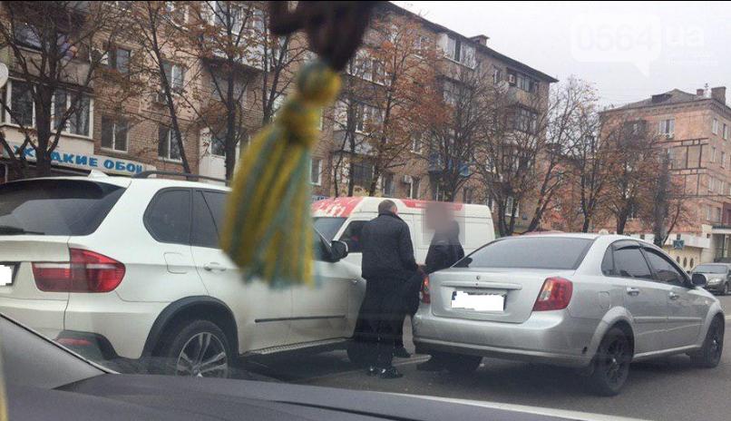 В Кривом Роге дорогу не поделили BMW и Chevrolet Lacetti, - ФОТО , фото-2