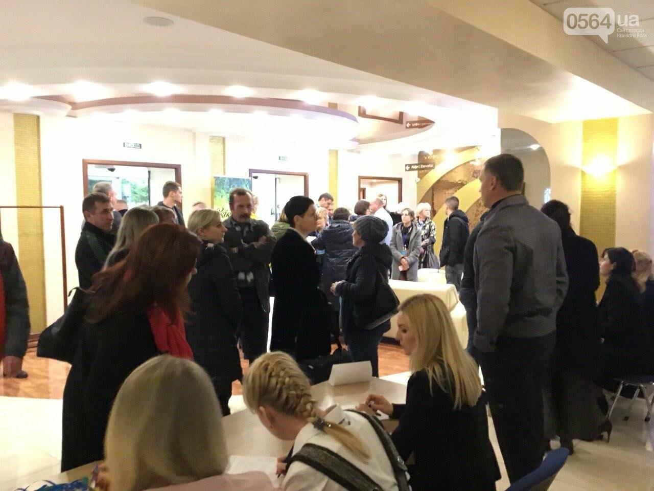 Жители Широковского района пытались попасть на выездное заседание эко - Комитета Рады в Кривом Роге, - ФОТО, ВИДЕО, фото-6