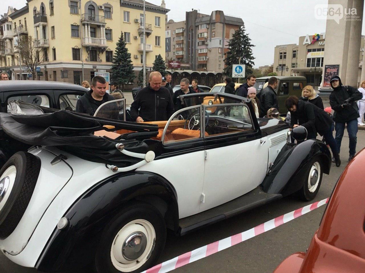 """В Кривом Роге показали """"Кабриолет"""", снимавшийся в 5 фильмах, и машину Штирлица, - ФОТО, ВИДЕО, фото-15"""