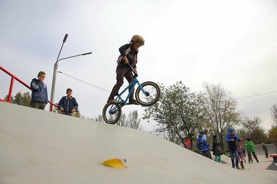 Социальные инвестиции Метинвеста: в Ингульце - новые сквер и скейт-парк, фото-3
