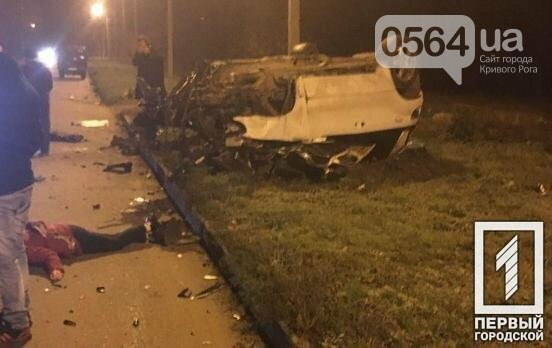 В Кривом Роге BMW X5 влетел в дерево: пострадала пассажирка, а водитель скрылся с места происшествия, - ФОТО , фото-1