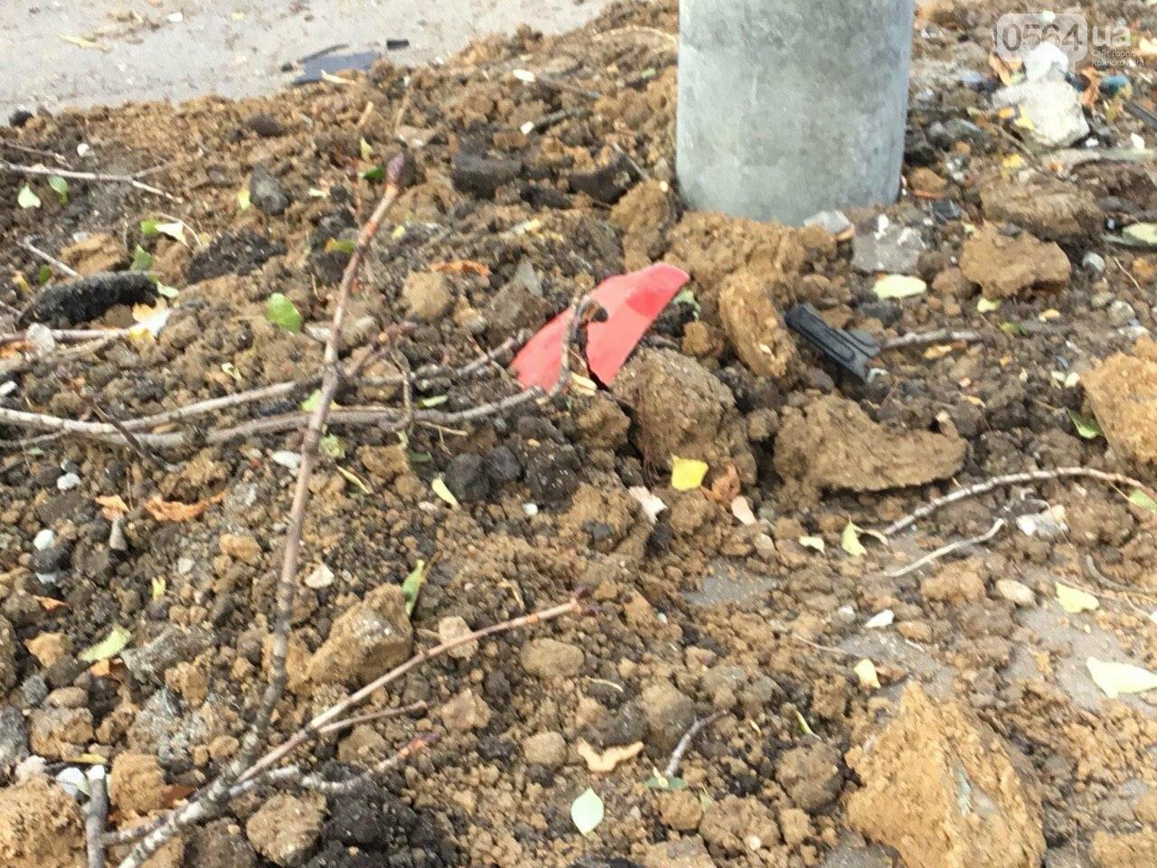 Куски стекла и обшивки разбившейся в Кривом Роге иномарки разлетелись на десятки метров, - ФОТО, фото-11