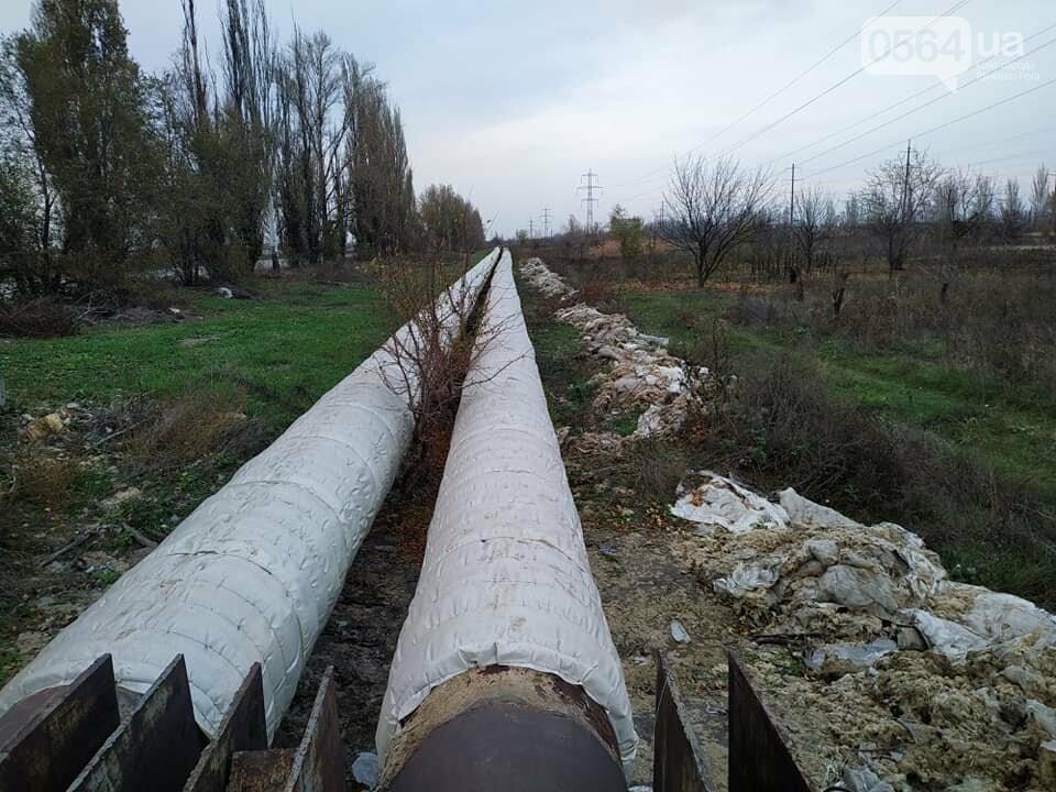 """Криворожский """"тепловик"""" после изоляции труб, оставил после себя строительный мусор, - ФОТО , фото-2"""