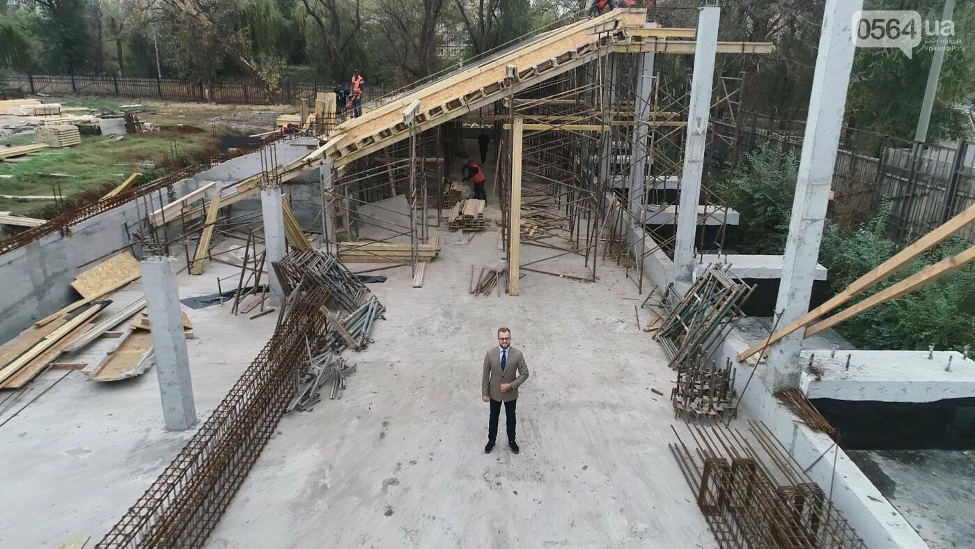 Стадион «Спартак» в Кривом Роге: первый из пяти секторов почти достроен, фото-8