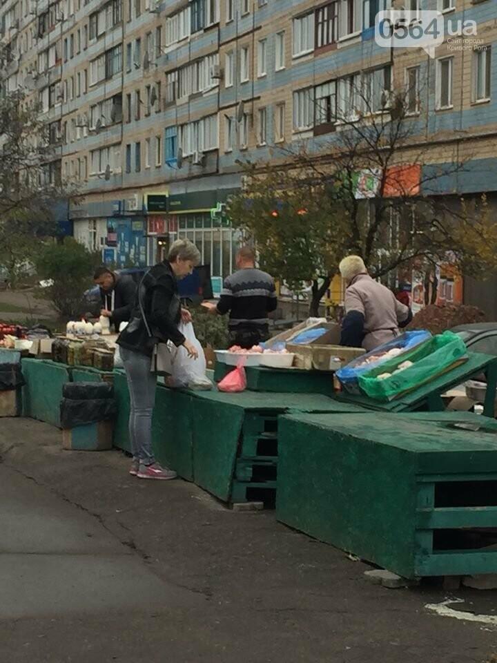 """В Покровском районе полиция с чиновниками пытались в очередной раз избавиться от """"стихийщиков"""", - ФОТО , фото-2"""