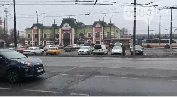 В Кривом Роге возле железнодорожной станции произошло ДТП, - ФОТО , фото-10