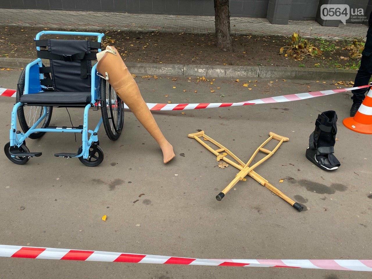 На центральном проспекте в Кривом Роге устроили молчаливый протест, - ФОТО, ВИДЕО, фото-16