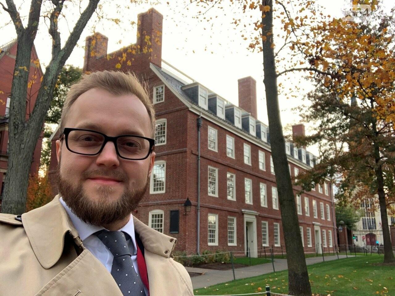 Константин Усов уехал в США на учебу в Гарвардский университет, и после окончания программы возвращается в Кривой Рог,  - ФОТО, фото-3