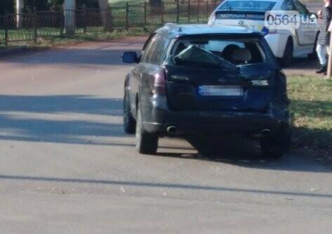 В Кривом Роге мусоровоз столкнулся с иномаркой, - ФОТО, фото-1