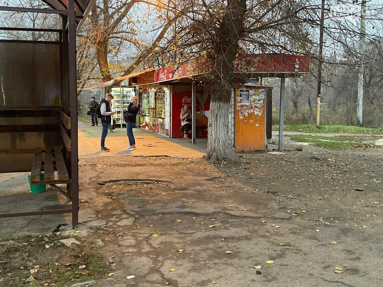 В Кривом Роге предприниматель помогла благоустроить остановку общественного транспорта, - ФОТО, фото-12