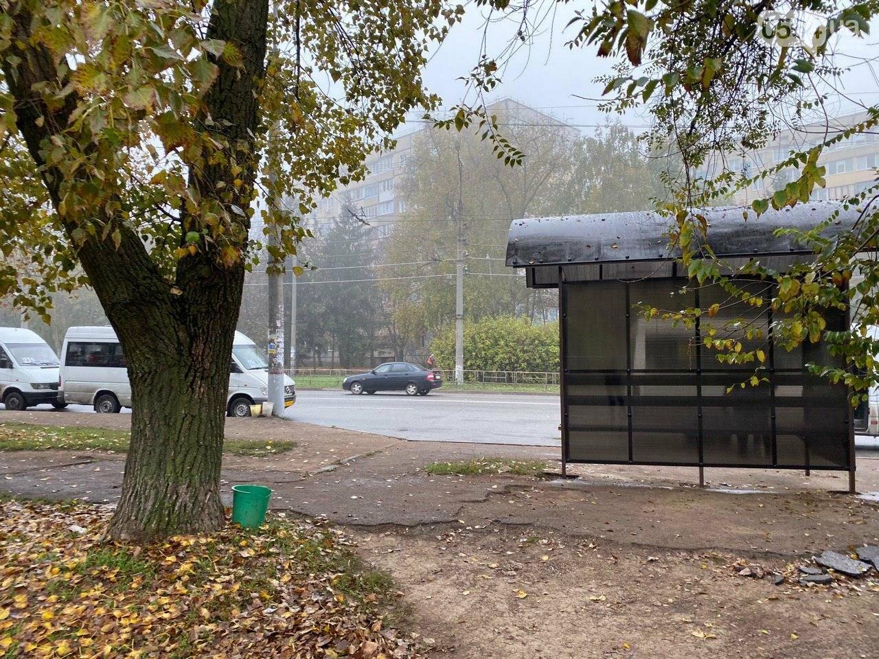 В Кривом Роге предприниматель помогла благоустроить остановку общественного транспорта, - ФОТО, фото-9