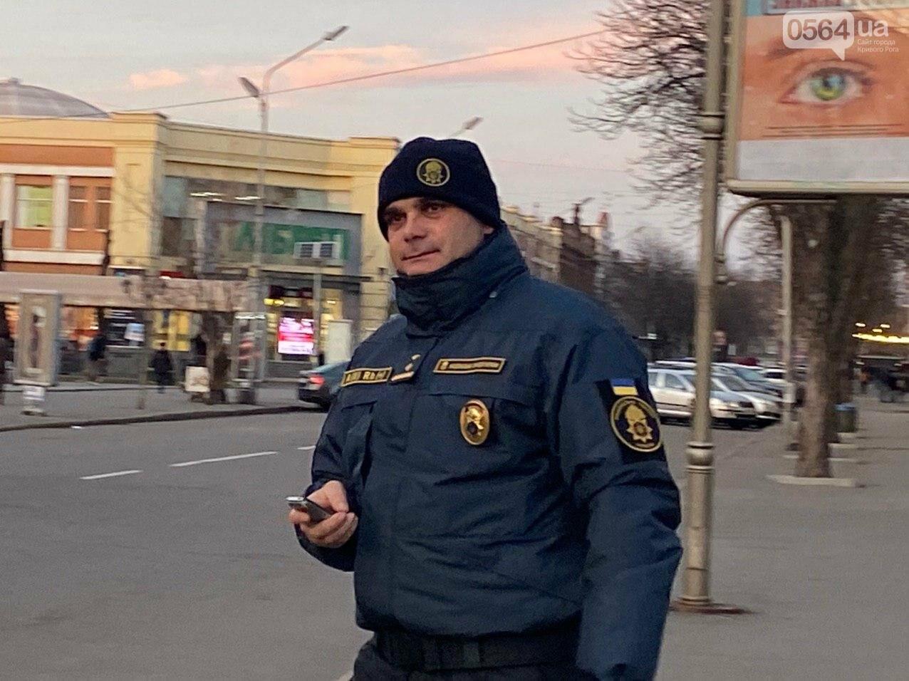 """""""Криворожане будут чувствовать себя в большей безопасности"""": в Центрально-Городском районе начались патрулирования, - ФОТО, ВИДЕО , фото-10"""