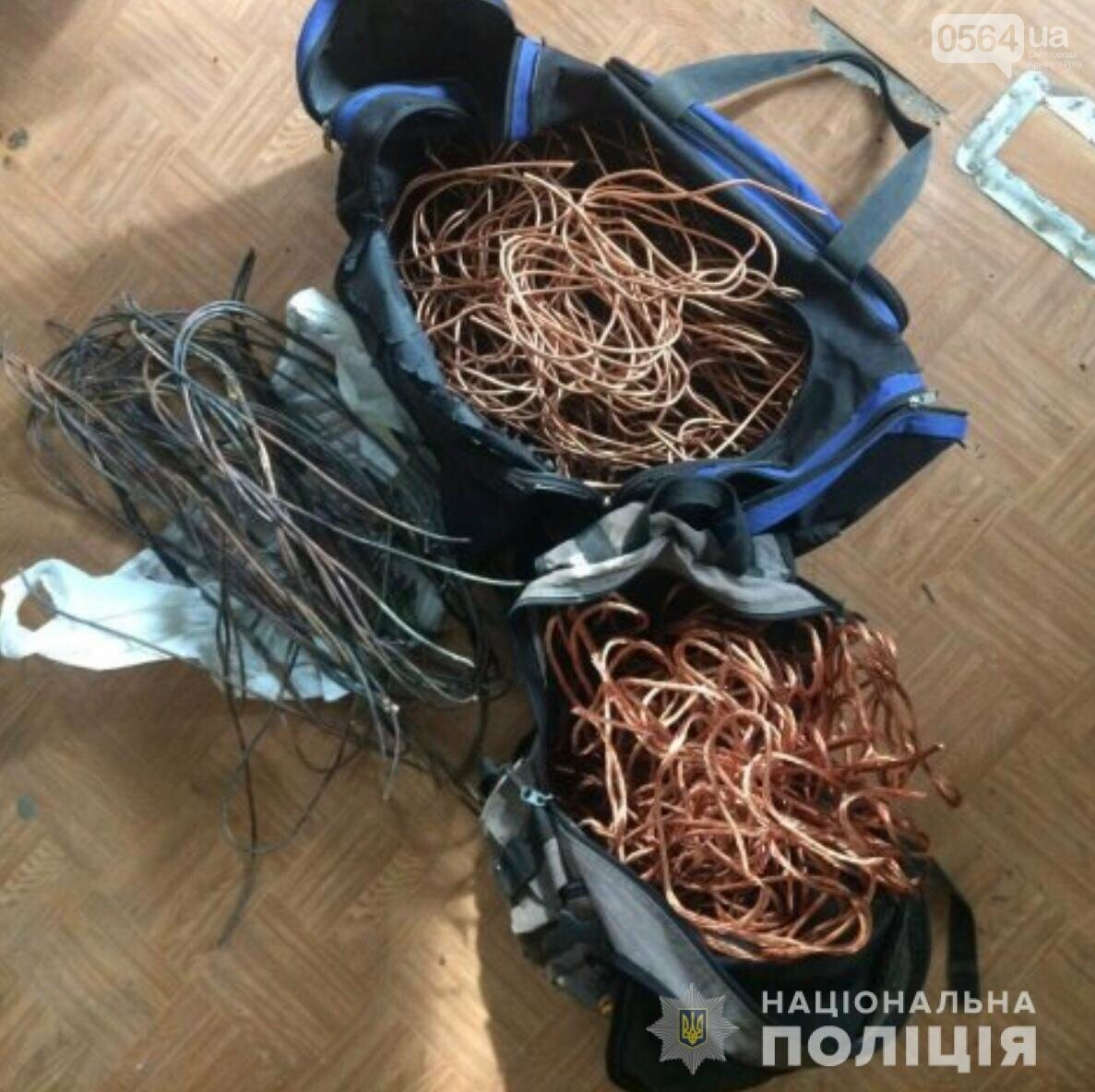 """""""Серийный кабельный вор"""" задержан в Кривом Роге, - ФОТО, фото-2"""
