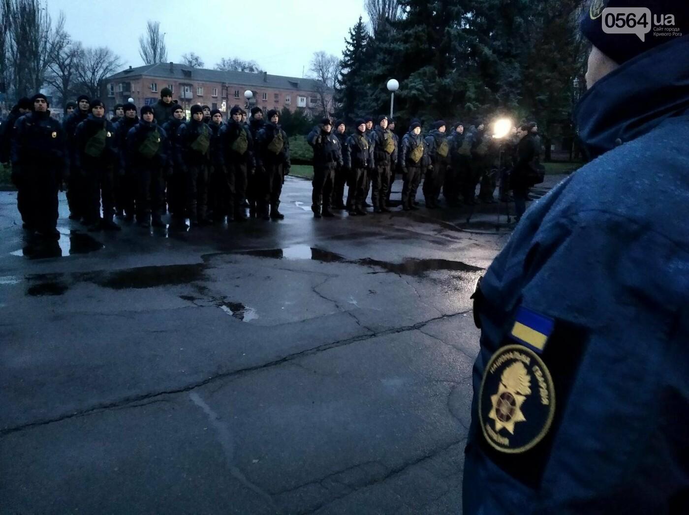 Криворожские военнослужащие и правоохранители приступили к усиленному патрулированию Долгинцевского района, - ФОТО , фото-3
