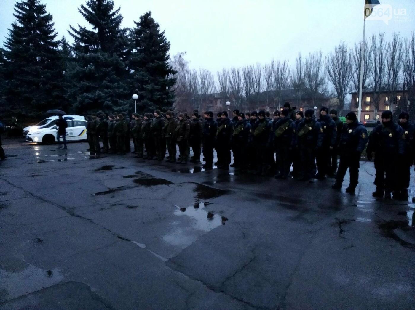 Криворожские военнослужащие и правоохранители приступили к усиленному патрулированию Долгинцевского района, - ФОТО , фото-5
