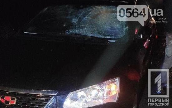 Ночь, ливень -  водитель Geely не заметил криворожанина, идущего по обочине, фото-3