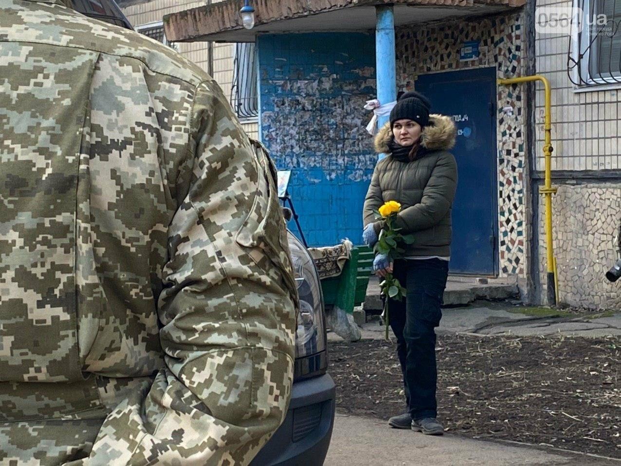 Кривой Рог прощается с патриотом - волонтером Андреем Садыло, - ФОТО, ВИДЕО, фото-7
