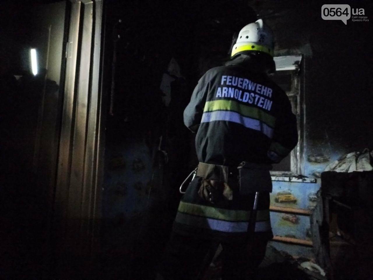 Во время пожара в Кривом Роге пострадал 70-летний пенсионер, - ФОТО , фото-3