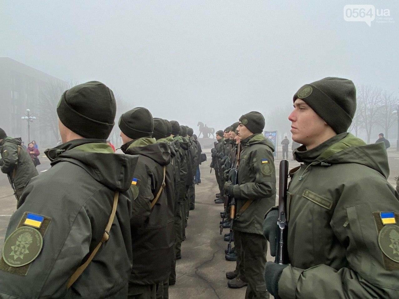 В Кривом Роге на верность украинскому народу присягнули 43 нацгвардейца, - ФОТО, ВИДЕО , фото-24