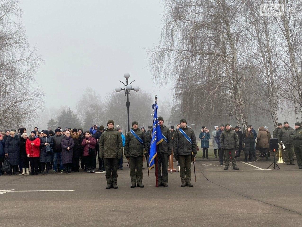В Кривом Роге на верность украинскому народу присягнули 43 нацгвардейца, - ФОТО, ВИДЕО , фото-12