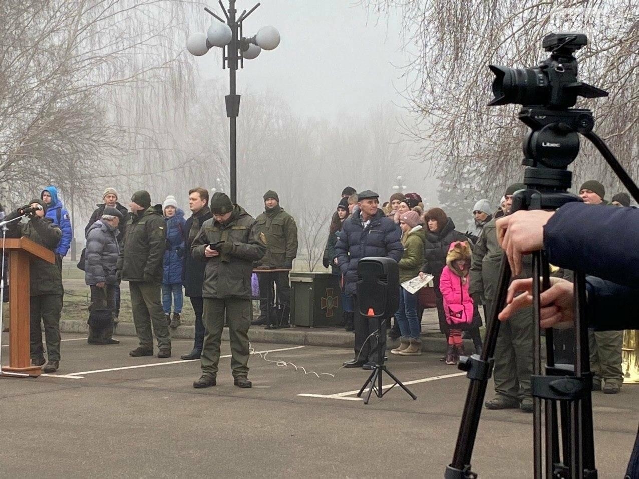 В Кривом Роге на верность украинскому народу присягнули 43 нацгвардейца, - ФОТО, ВИДЕО , фото-2