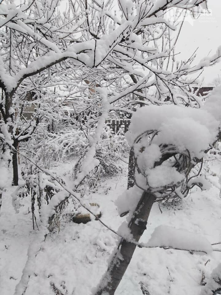 Кривой Рог на Крещение дождался снега, но местами, - ФОТО, фото-15