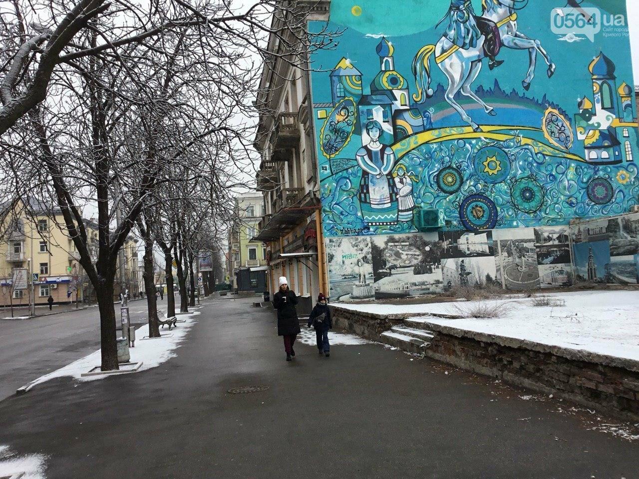 Кривой Рог на Крещение дождался снега, но местами, - ФОТО, фото-5