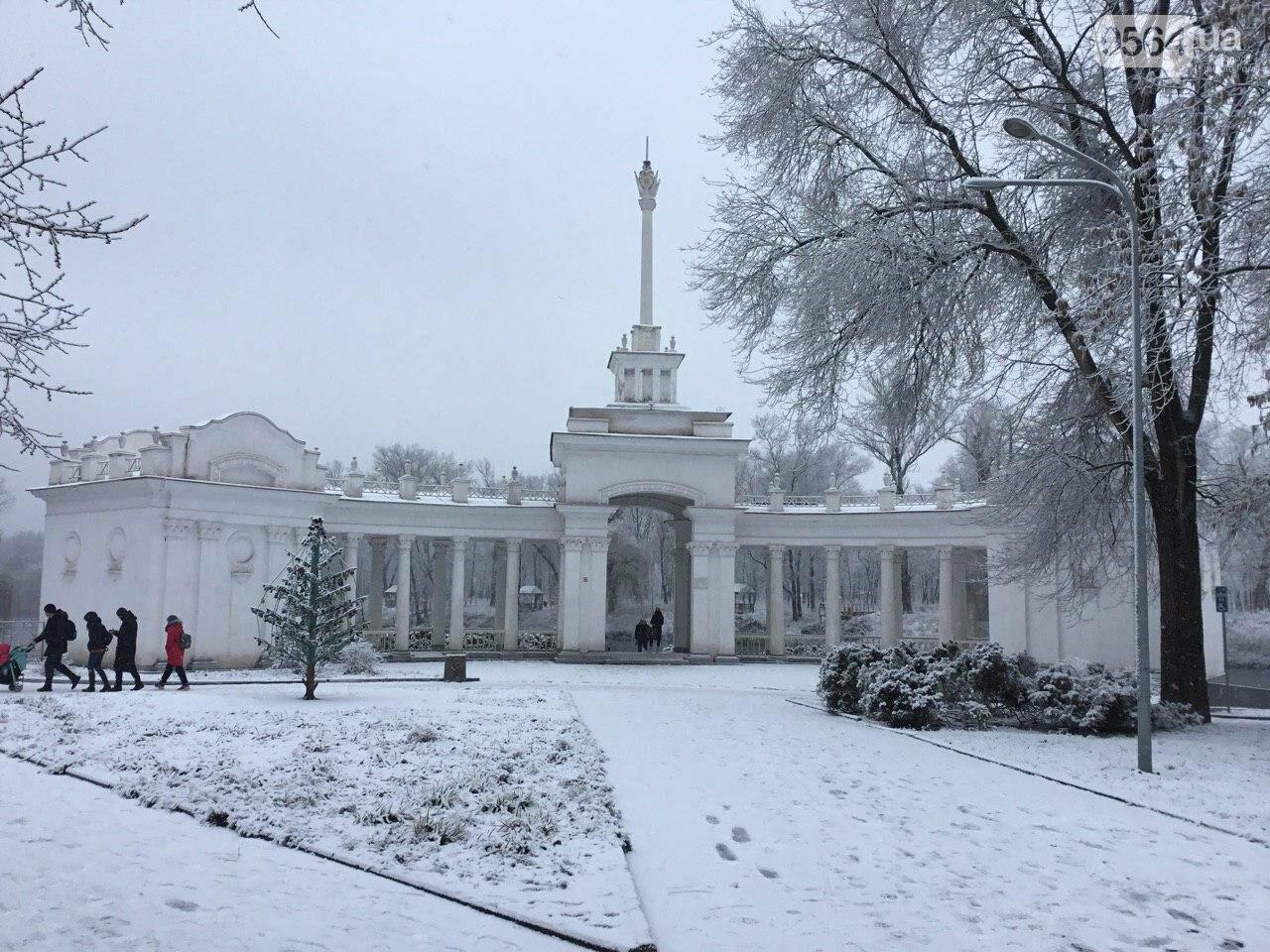 Кривой Рог на Крещение дождался снега, но местами, - ФОТО, фото-8