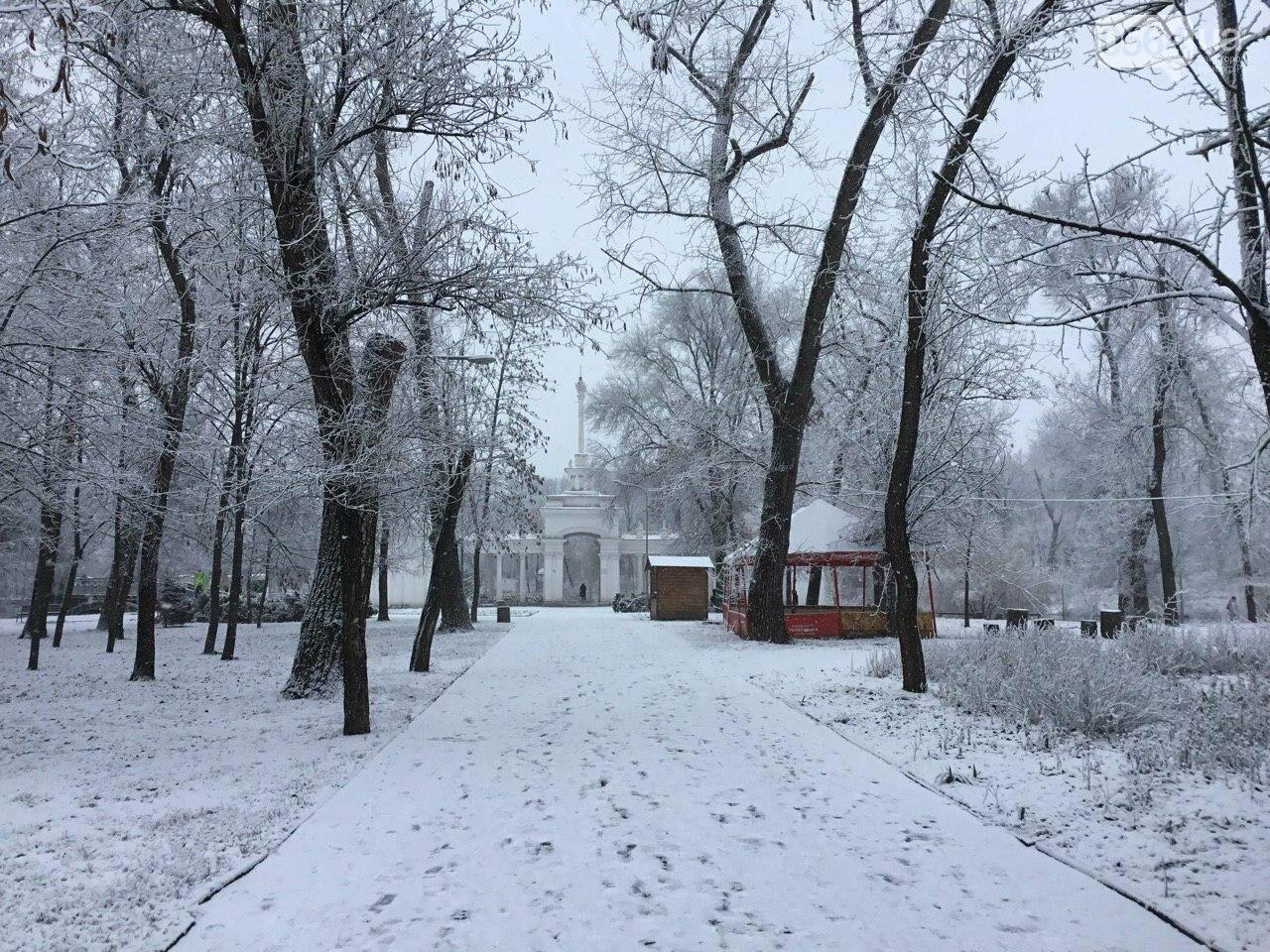 Кривой Рог на Крещение дождался снега, но местами, - ФОТО, фото-6