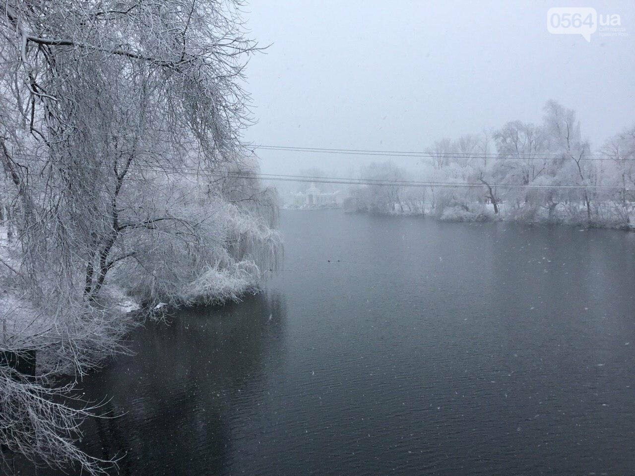 Кривой Рог на Крещение дождался снега, но местами, - ФОТО, фото-10