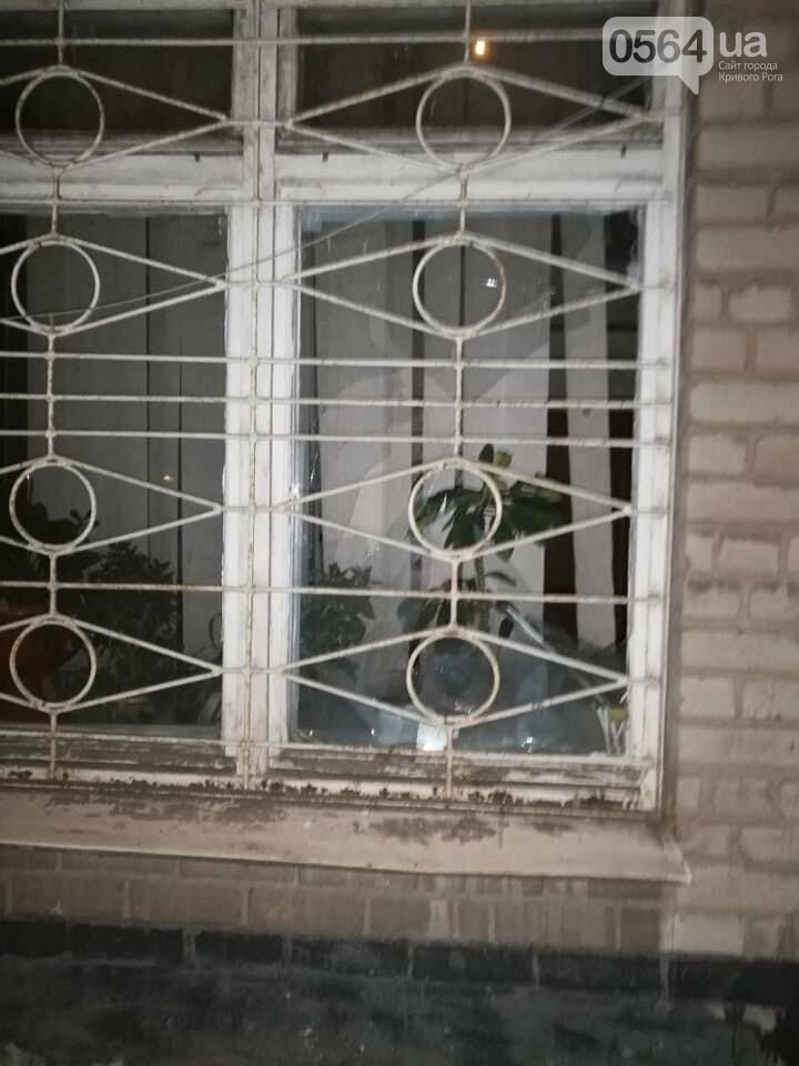 Полиция задержала пьяного криворожанина, который разбил окно , фото-1