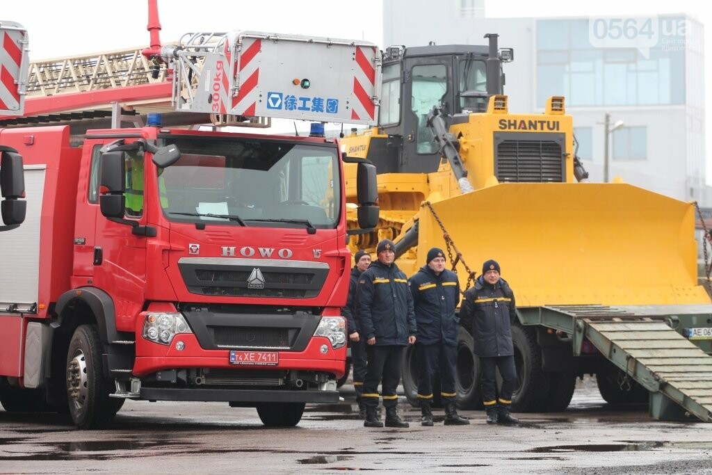 Криворожским спасателям передали спецтехнику из Китая, - ФОТО , фото-11