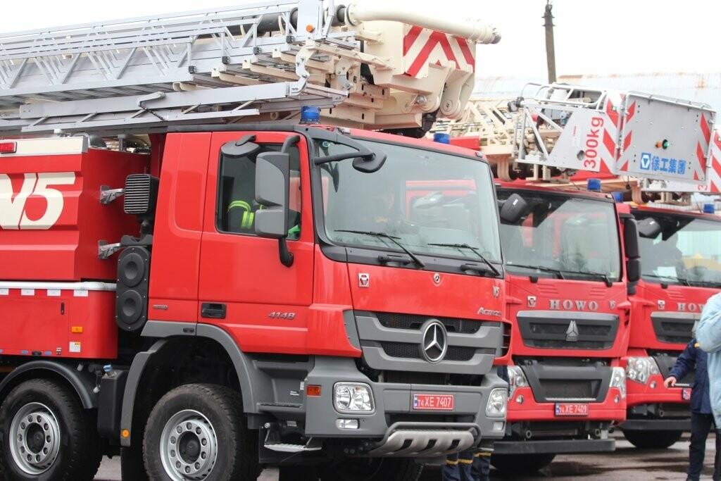 Криворожским спасателям передали спецтехнику из Китая, - ФОТО , фото-1