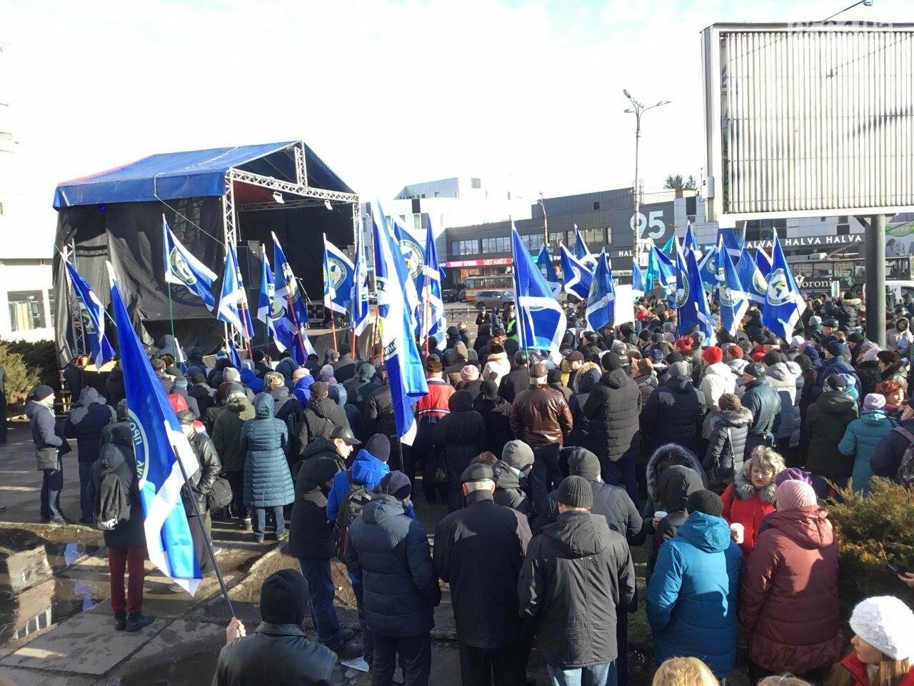 В Кривом Роге протестуют против принятия Радой нового трудового законодательства, - ФОТО, ВИДЕО, фото-7