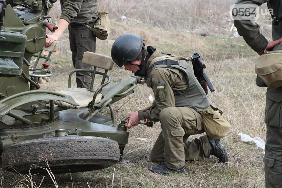 В Криворожской бригаде Нацгвардии начались соревнования зенитчиков, - ФОТО, фото-3
