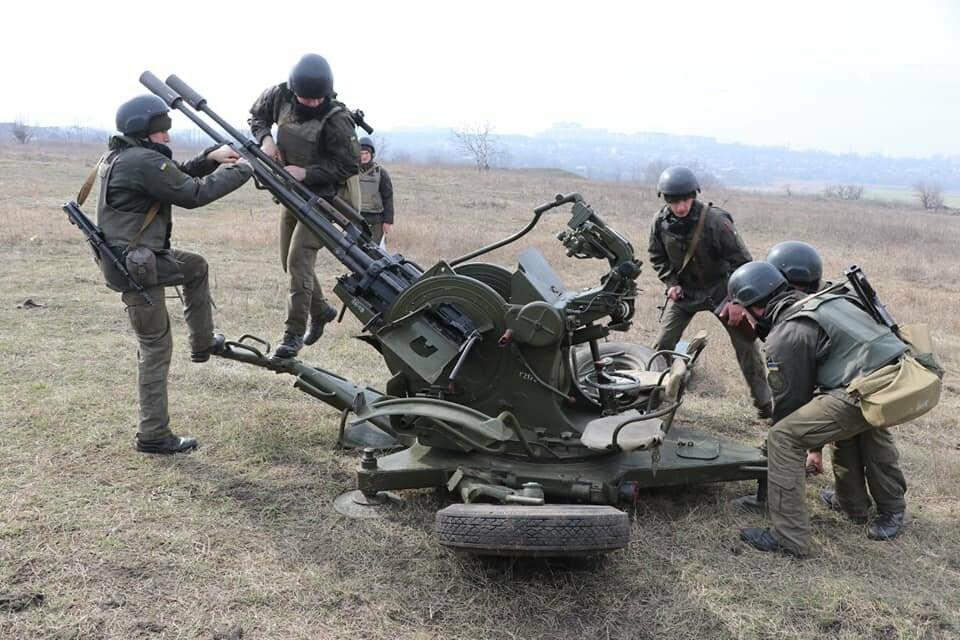 В Криворожской бригаде Нацгвардии начались соревнования зенитчиков, - ФОТО, фото-2
